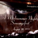 Thanks, Marc Zider! Sausagefest #17 Banner, 2014