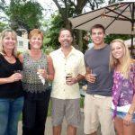 Five Delighted Sausagefest Guests