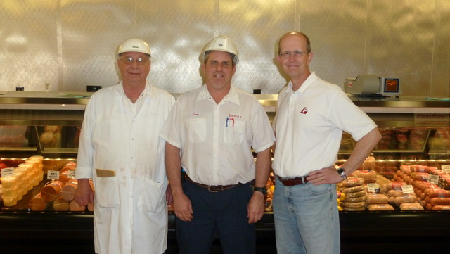 Kent and Dewig Family at Dewig Meats, Haubstadt, Indiana